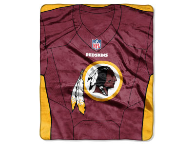"Washington Redskins NFL 50x60 ""Jersey"" Plush Raschel Blanket"