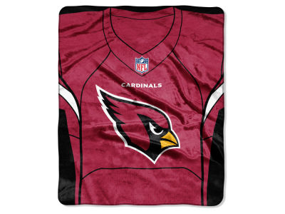 "Arizona Cardinals NFL 50x60 ""Jersey"" Plush Raschel Blanket"