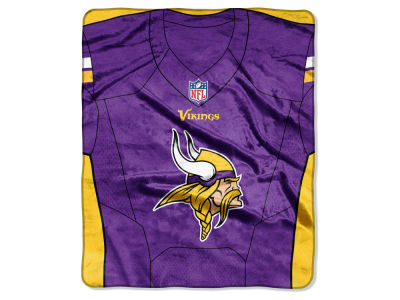 "Minnesota Vikings The Northwest Company NFL 50x60 ""Jersey"" Plush Raschel Blanket"