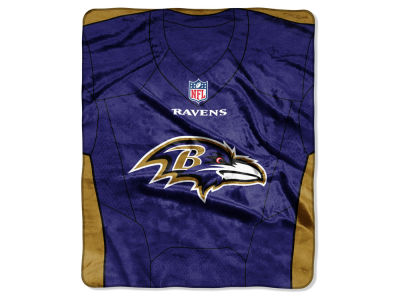 "Baltimore Ravens The Northwest Company NFL 50x60 ""Jersey"" Plush Raschel Blanket"