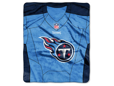 "Tennessee Titans The Northwest Company NFL 50x60 ""Jersey"" Plush Raschel Blanket"