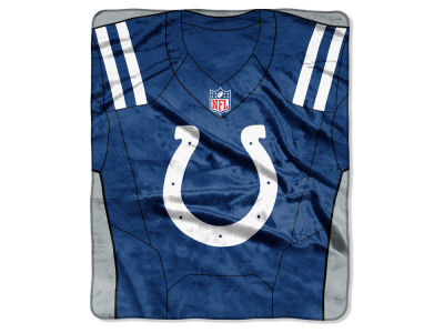 "Indianapolis Colts NFL 50x60 ""Jersey"" Plush Raschel Blanket"