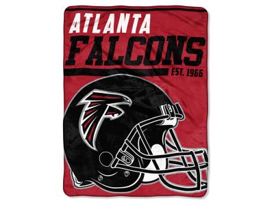 "Atlanta Falcons Micro Raschel 46x60 ""40 Yard Dash"" Blanket"