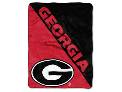 "Georgia Bulldogs The Northwest Company Micro Raschel 46x60 ""Halftone"" Blanket"