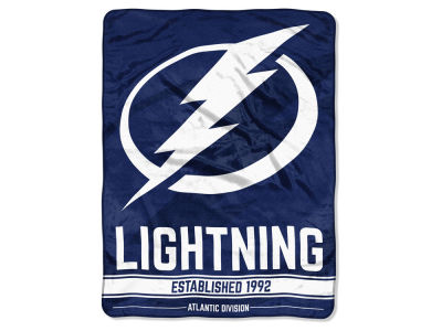 "Tampa Bay Lightning Micro Raschel 46x60 ""Break Away"" Blanket"