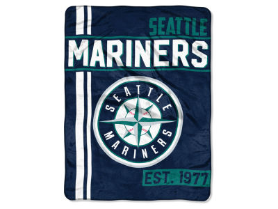 "Seattle Mariners Micro Raschel 46x60 ""Walk Off"" Blanket"