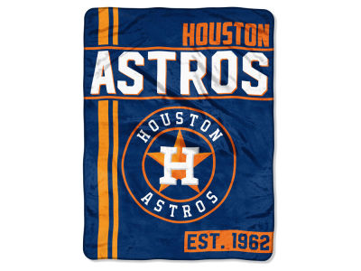 "Houston Astros Micro Raschel 46x60 ""Walk Off"" Blanket"