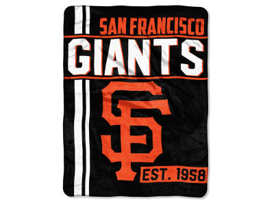 "San Francisco Giants Micro Raschel 46x60 ""Walk Off"" Blanket"