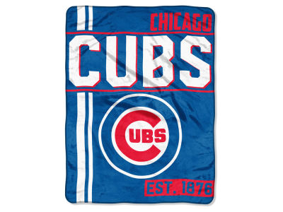"Chicago Cubs The Northwest Company Micro Raschel 46x60 ""Walk Off"" Blanket"