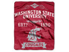 Washington State Cougars The Northwest Company 50x60in Plush Throw Team Spirit Bed & Bath