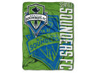 Seattle Sounders FC The Northwest Company 50x60in Plush Throw Drop Down Bed & Bath