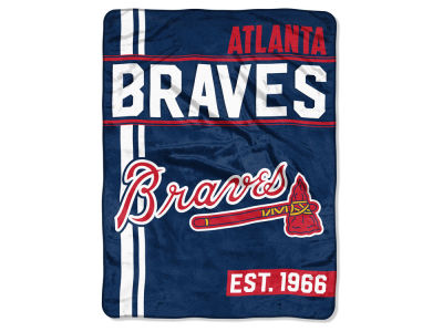 "Atlanta Braves The Northwest Company Micro Raschel 46x60 ""Walk Off"" Blanket"