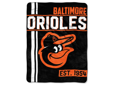 "Baltimore Orioles Micro Raschel 46x60 ""Walk Off"" Blanket"