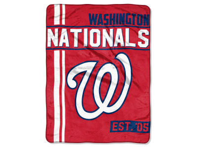 "Washington Nationals Micro Raschel 46x60 ""Walk Off"" Blanket"