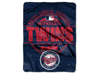 Minnesota Twins The Northwest Company Micro Raschel 46inch x 60inch Structure Blanket