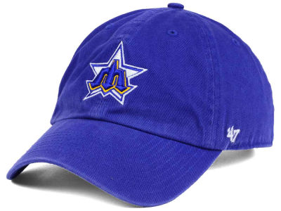 Seattle Mariners '47 MLB Cooperstown '47 CLEAN UP Cap
