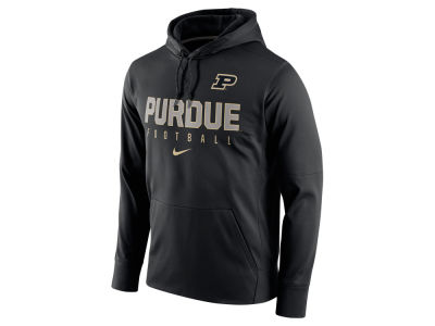 Purdue Boilermakers Nike NCAA Men's Circuit Performance Hoodie