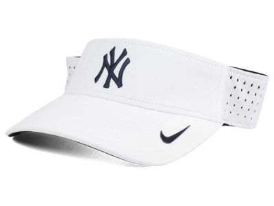 New York Yankees Nike MLB 2016 White Visor