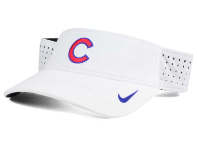 Chicago Cubs Nike MLB 2016 White Visor