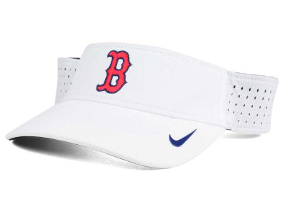 Boston Red Sox Nike MLB 2016 White Visor