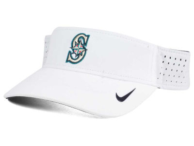 Seattle Mariners Nike MLB 2016 White Visor