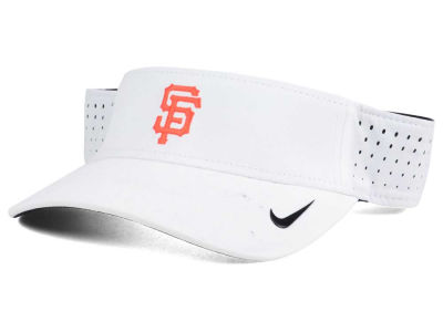 San Francisco Giants Nike MLB 2016 White Visor