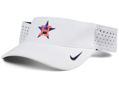 Houston Astros Nike MLB 2016 White Visor