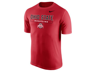 Ohio State Buckeyes NCAA Men's Wrestling Dri-Fit Long Sleeve T-Shirt