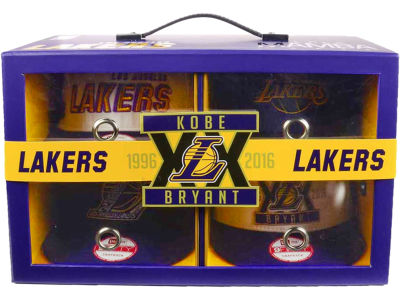 Los Angeles Lakers New Era NBA Kobe Bryant Retirement 9FIFTY Snapback Box Set