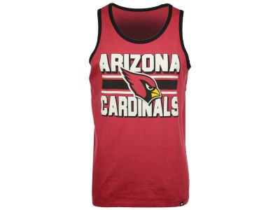 Arizona Cardinals '47 NFL Men's Team Stripe Crosstown Tank