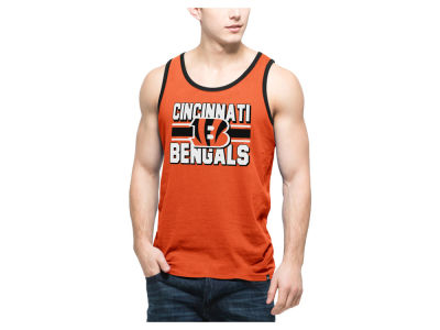 Cincinnati Bengals '47 NFL Men's Team Stripe Crosstown Tank