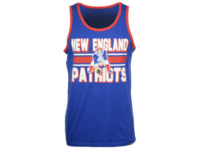 New England Patriots '47 NFL Men's Team Stripe Crosstown Tank