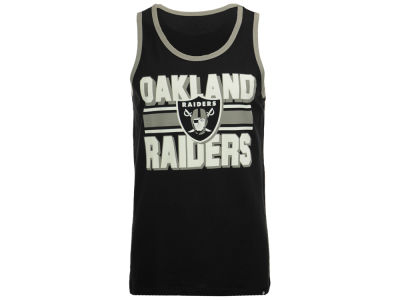 Oakland Raiders '47 NFL Men's Team Stripe Crosstown Tank