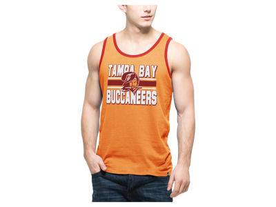 Tampa Bay Buccaneers '47 NFL Men's Team Stripe Crosstown Tank
