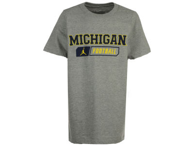 Michigan Wolverines Nike NCAA Youth Core Facility Cotton T-Shirt