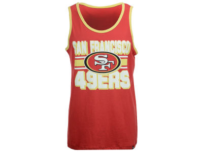 San Francisco 49ers '47 NFL Men's Team Stripe Crosstown Tank