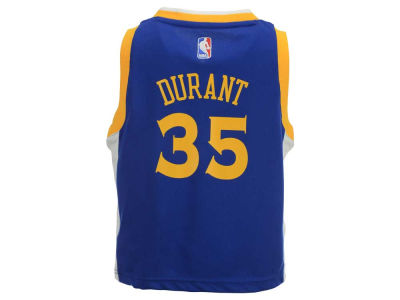 Golden State Warriors Kevin Durant adidas NBA Kids Replica Jerseys