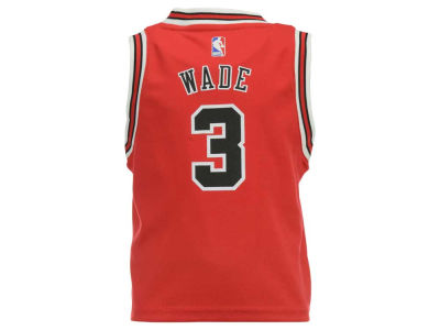 Chicago Bulls Dwyane Wade NBA Toddler Replica Jersey