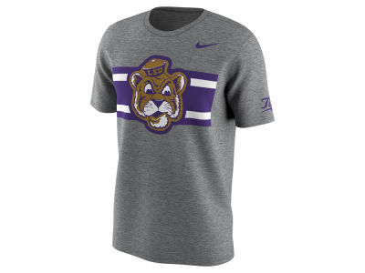 LSU Tigers Nike NCAA Men's Uniform Hook Cotton T-Shirt