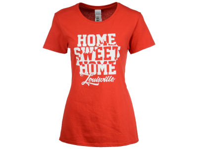 Louisville Cardinals 2 for $28 NCAA Women's Home Sweet Home T-Shirt