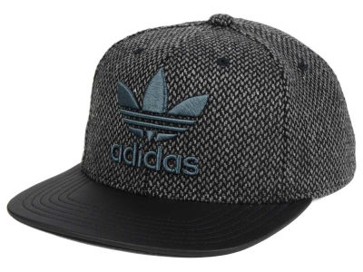 adidas Originals Trefoil Plus Tweed Snapback Cap