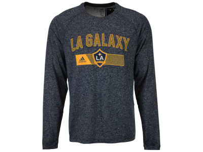LA Galaxy adidas MLS Men's Forward Long Sleeve T-Shirt