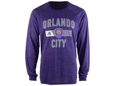 Orlando City SC adidas MLS Men's Forward Long Sleeve T-Shirt