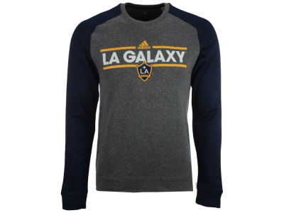 LA Galaxy adidas MLS Men's Dassler Local Crew Sweatshirt