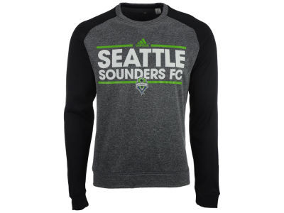Seattle Sounders FC adidas MLS Men's Dassler Local Crew Sweatshirt