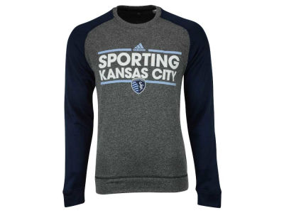 Sporting Kansas City adidas MLS Men's Dassler Local Crew Sweatshirt