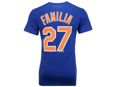 New York Mets Jeurys Familia Majestic MLB Men's Official Player T-Shirt