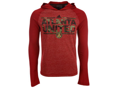 Atlanta United FC adidas MLS Men's Dassler Tactical Hooded Long Sleeve T-Shirt