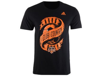 Houston Dynamo adidas MLS Men's Club & Country T-Shirt