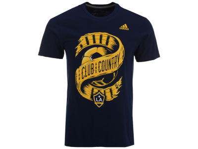 LA Galaxy adidas MLS Men's Club & Country T-Shirt